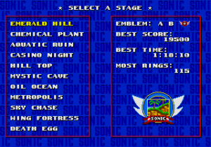 Sonic 2 Adventure Edition trial mode